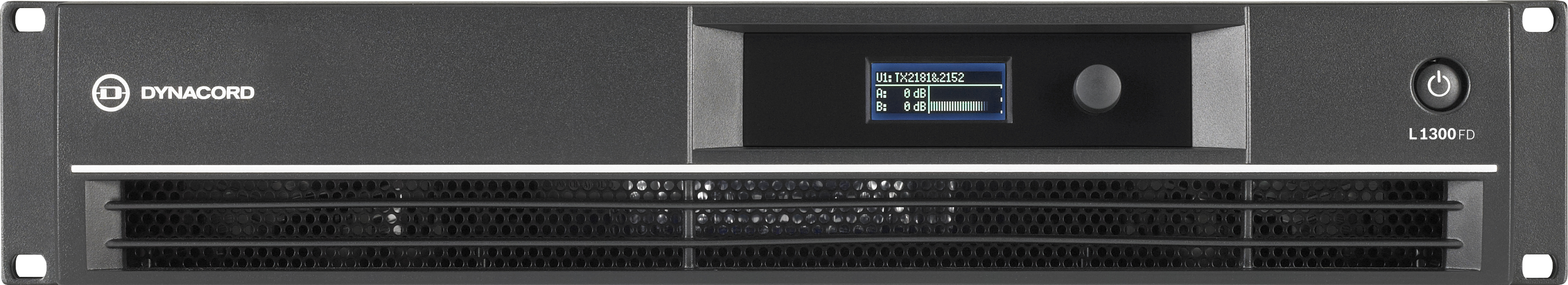 L1300FD DSP 2 x 650 W Power Amplifier for live performance